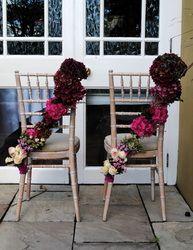 Chair Garlands   Ceremony Flowers - Daisy Chain Kinsale Weddings