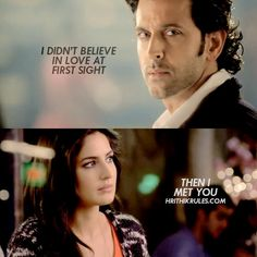 """""""I can't take my eyes off of you. Hrithik Roshan Bang Bang, Love At First Sight, First Love, Friendship Captions, Katrina Kaif Photo, Love Quotes With Images, Daily Motivational Quotes, Stylish Boys, Actor Photo"""