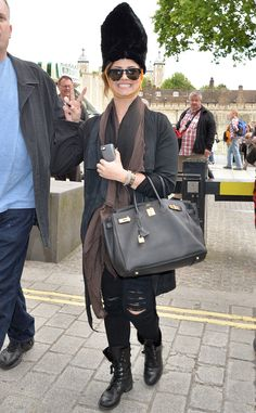 Demi Lovato in London 2014
