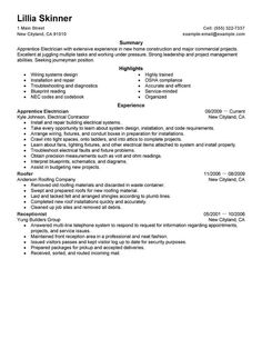 Resume Templates Live Career Live Career  Pinterest  Template