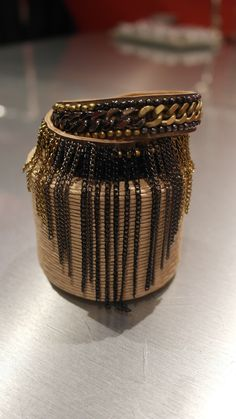 One of my favorite pieces! The I'm a Cuff with Fringe by Fiona Paxton #fabulous