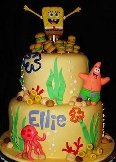 Pretty Picture of Spongebob Birthday Cake . Spongebob Birthday Cake Spongebob Cakes Decoration Ideas Little Birthday Cakes 25th Birthday Cakes, Homemade Birthday Cakes, 3rd Birthday, Birthday Cake Pictures, Birthday Ideas, Birthday Parties, Spongebob Birthday Party, Birthday Cake Decorating, Occasion Cakes
