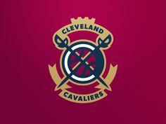 Celeveland Cavaliers by Fraser Davidson