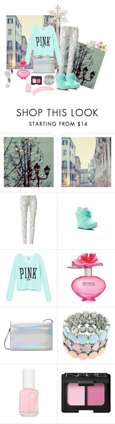 """Winter"" by fabulousbyangelika ❤ liked on Polyvore featuring sass & bide, Victoria's Secret PINK, Marc Jacobs, Zara, Lipsy, Essie, NARS Cosmetics and Topshop"