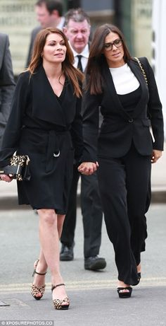Coronation Street cast pay tribute to late show creator Tony Warren Michelle Connor, Carla Connor, Beautiful Hair Color, Beautiful Person, Coronation Street Cast, Manchester Cathedral, Alison King, Kym Marsh, Funeral Outfit