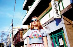 Tuesday Crop T-Shirt http://www.lazyoaf.com/lazy-oaf-tuesday-cropped-t-shirt-3