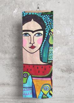 Frida Kahlo Parrots