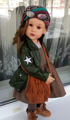 Winter Clothes, Winter Outfits, Gotz Dolls, American Girl Clothes, Happy Kids, Doll Clothes, Harajuku, Girl Outfits, Style