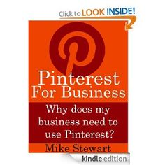 Free Kindle Book: Pinterest ForBusiness -