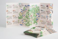 Han-Ching Huang on Behance Map Layout, Brochure Layout, Book Layout, Brochure Design, Flyer Design, Pamphlet Design, Leaflet Design, Map Design, Book Design
