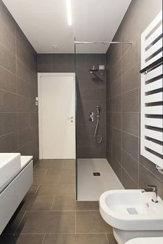 Simple and Challenging DIY Bathroom Remodel Projects Small Bathroom Renovations, Bathroom Remodel Cost, Modern Bathrooms Interior, Modern Bathroom Decor, Shower Remodel, Bathroom Design Small, Bathroom Colors, Bathroom Remodeling, Bathroom Wall Cabinets