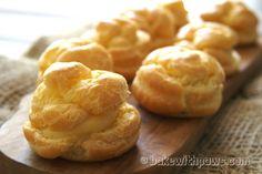 Cream Puff with Custard Filling