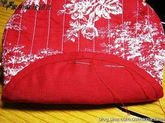Sew Bag-Big Purse. DIY tutorial with patterns. ~