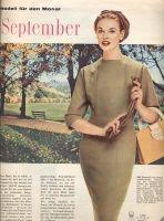 Burda 1957 dress