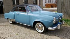 1951 Studebaker Champion Convertible | W297 | Indy 2019 Bmw I3, Bmw Classic Cars, American Classic Cars, Lincoln Continental, Old Vintage Cars, Antique Cars, Cadillac, Volkswagen, 1950s Car