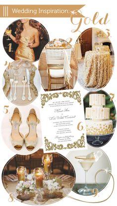 Gold Wedding Inspiration via Delphine » DELPHINE EPHEMERA — Wedding Invitations, Letterpress, and Graphic Design Studio