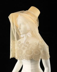 1830 hat and veil