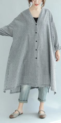Baggy Dresses, Trendy Dresses, Casual Dresses, Casual Outfits, Fashion Outfits, Linen Dresses, Maxi Dresses, Long Sleeve Maxi, Maxi Dress With Sleeves