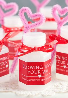 Blowing Kisses Your Way Valentine - Gift & Favor Ideas from Evermine