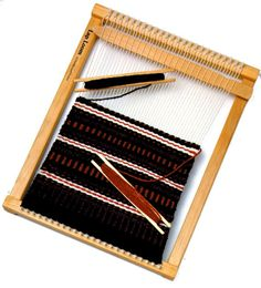 "I want one of these... Harrisville Small Lap Loom Kit (12"" x 16"")"