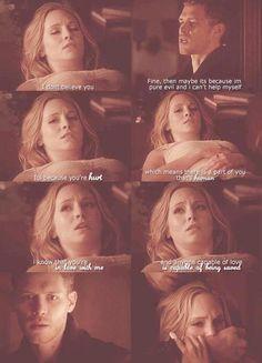 Klaus & Caroline - Klaroline