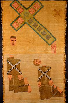 Hannah Ryggen Hitlerteppet, 1936  Norwegian Tapestry