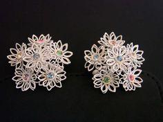Vintage White Enamel Pastel Rhinestone Floral Wire Clip Earrings Mid Century Jewelry Jewellery https://www.etsy.com/listing/517179823/vintage-white-enamel-pastel-rhinestone?utm_campaign=crowdfire&utm_content=crowdfire&utm_medium=social&utm_source=pinterest