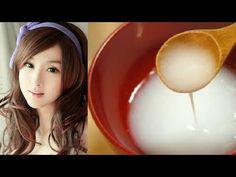 Las japonesas tienen el rostro joven y radiante porque lo lavan con esto - YouTube
