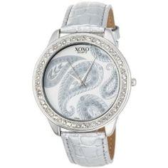 beautiful paisley print watch