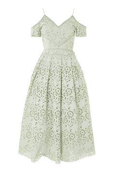 TALL Laser Cut Midi Prom Dress