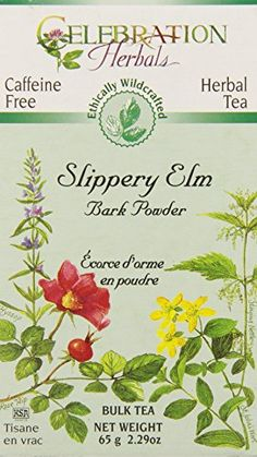Celebration Herbals Slippery Elm Bark Powder Bulk Tea Caffeine Free -- 65 grams *** Want additional info? Click on the image.