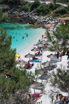 Marble Beach, Thassos, Greece