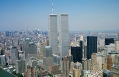 World Trade Center, New York Skyline, Summer 2001
