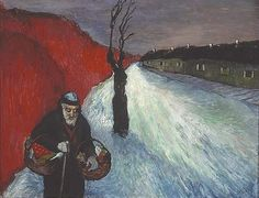 Marianne von Werefkin, The Lonely Path, c. 1910 by kraftgenie, via Flickr