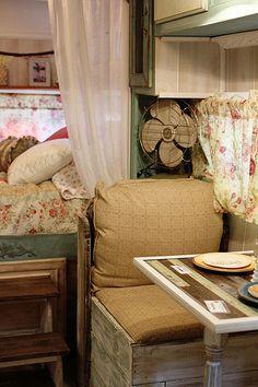 Gypsy Interior Design Dress My Wagon| Serafini Amelia| Travel Trailer| Design Inspiration| taken by Victoria Mock | Flickr - Photo Sharing!