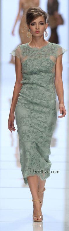 Ermanno Scervino S/S 2012 - love this color!