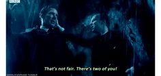 Sherlock moriarty that's no fair there's two of you Sherlock the abominable bride