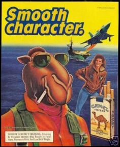 camel cigarettes ads essay Joe camel, cartoon character that became focus of perhaps most intense attacks ever levied against an american advertising campaign, is being dropped by r j reynolds tobacco co, which will replace it with stylized versions of camel cigarettes' original camel trademark photos (l.
