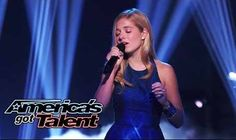 14-Year-Old Jackie Evancho 'Think of Me' - America's Got Talent 2014