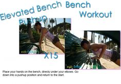 Bench workout