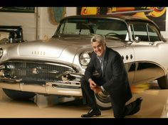 Jay Leno loves his cars so much that he employs four mechanics and fabricators in a workshop fulltime. While his personal favorite is the 1995 McLaren F1, he actually just buys anything and everything that he likes. He has a 1909 Baker Electric, 1924 Doble Steam, 1955 Buick Roadmaster, a Stanley Steamer, pre-war Bugatti and a host of others.
