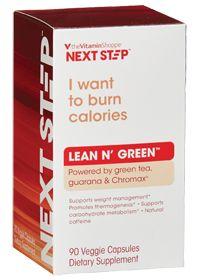 Lean N Green (Green Tea, Caffeine & Chromax) #nextstep