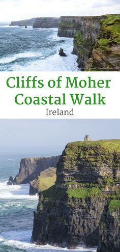 Cliffs of Moher Coastal Walk- Walking the Cliffs of Moher From Hags Head (Blog post, travelyesplease.com) | #Ireland #CliffsofMoher #CountyClare #Europe