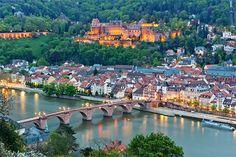 Rhine River in Heidelberg (Photo: Kanuman/Shutterstock)