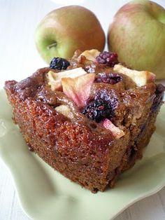 {Blackberry Apple Cake} #glutenfree, #vegan