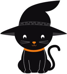 Halloween - Minus Halloween Silhouettes, Halloween Clipart, Halloween Pictures, Halloween Friday The 13th, Cute Halloween, Vintage Halloween, Fall Cats, Happy Birthday Messages, Cute Animal Drawings
