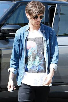 Louis in L.A. recently :)