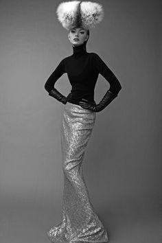 Divine Elegence - Photographer Bo Brinkenfalk capturess model Astrid (MIKAs) for this ultra glamorous story for Schön Magazine. Styled by Gordana Zlatanovic.