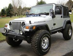 2001 lifted jeep wrangler - Bing Images