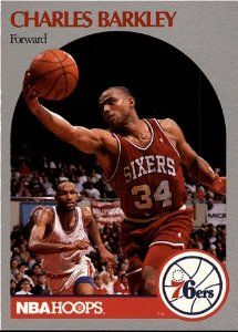 24834c116fb3 Amazon.com  1990 NBA Hoops - Charles Barkley - Sixers - Card 225  Sports    Outdoors